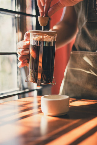 Cafetiere Coffee Brewing