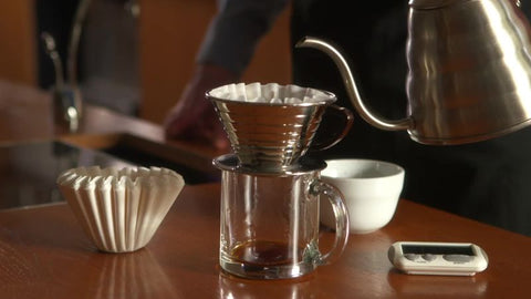 Kalitta pour over coffee, our favourite