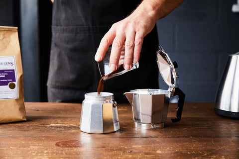 Moka Pot Coffee Gems