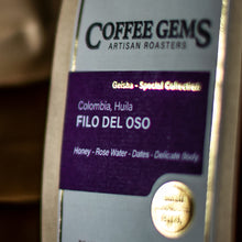 Load image into Gallery viewer, FILO DEL OSO - Colombia Geisha Coffee