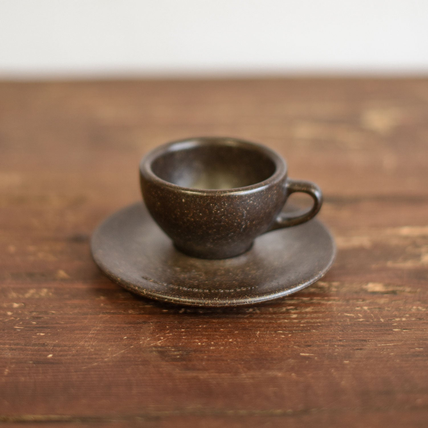 Cups Made of Ground Coffee