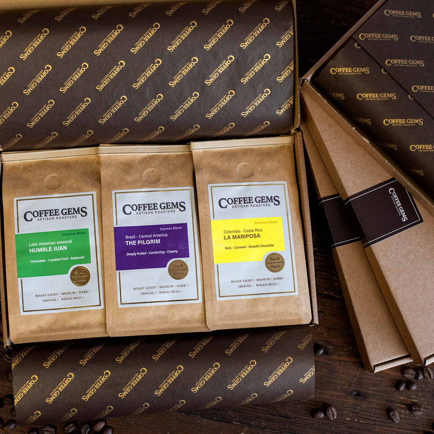 TASTING SELECTION BOX - ESPRESSO COFFEES