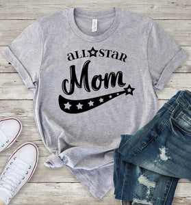 All Star Mom T-Shirt