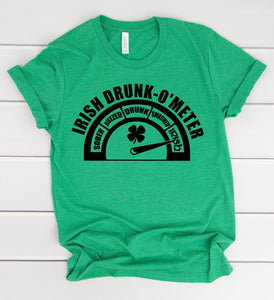 Irish Drunk O'Meter T-Shirt