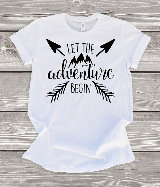 Let the Adventure Begin T-Shirt