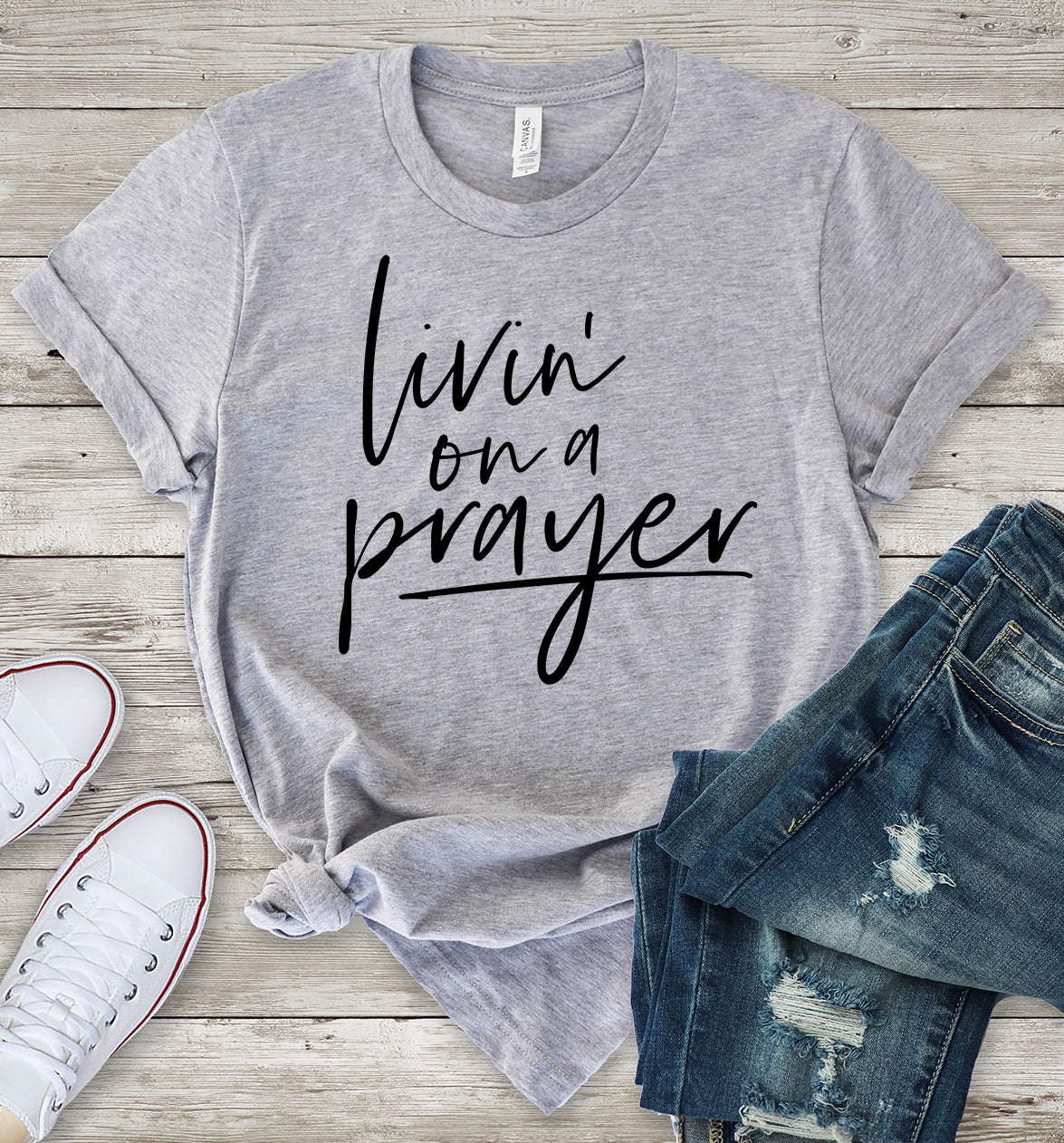 Livin' on a Prayer T-Shirt