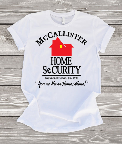 McCallister Home Security (Home Alone) T-Shirt