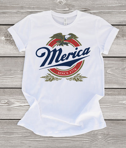 Merica Miller 4th of July T-Shirt