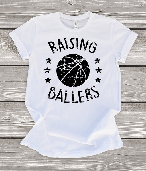 Raising Ballers Basketball T-Shirt