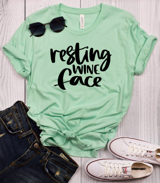 Resting Wine Face T-Shirt
