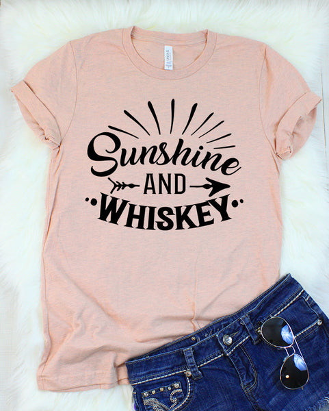 Sunshine and Whiskey T-Shirt