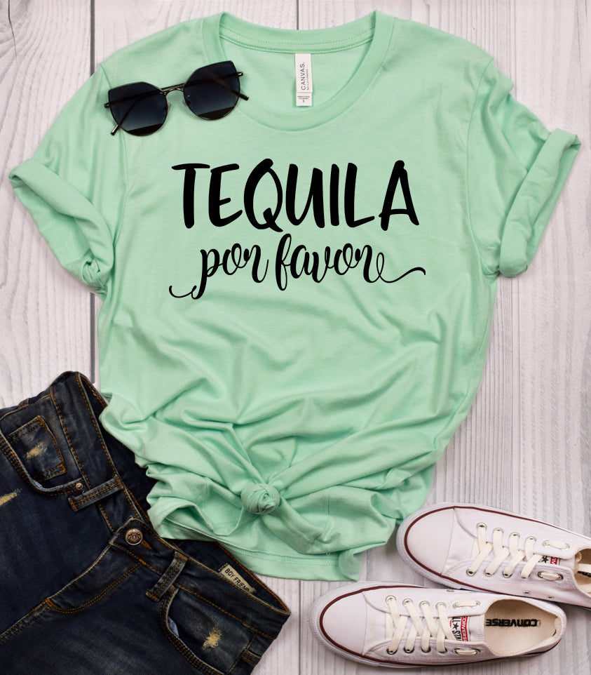 Tequila Por Favor T-Shirt