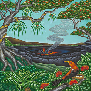 101 'I'iwi Nest by Hawaii Artist Dietrich Varez