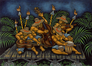 112 Hawaiian Musicians by Hawaii Artist Dietrich Varez