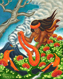 148 Lei Offering by Hawaii Artist Dietrich Varez