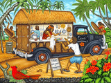 170 Lani's Lunchwagon by Hawaii Artist Dietrich Varez