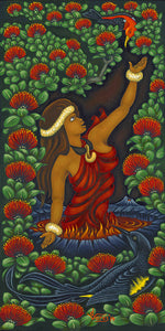 191 Pele Love by Hawaii Artist Dietrich Varez