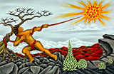1 Maui Slowing the Sun by Hawaii Artist Dietrich Varez