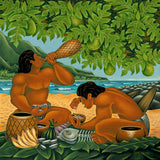 34 The Feast by Hawaii Artist Dietrich Varez