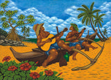 39 Blue Hawaii by Hawaii Artist Dietrich Varez