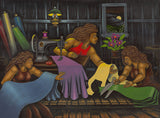 57 Sewing Sisters by Hawaii Artist Dietrich Varez