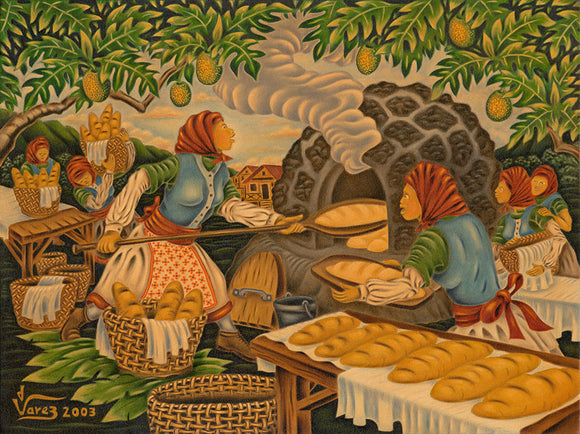 63 The Stone Oven by Hawaii Artist Dietrich Varez