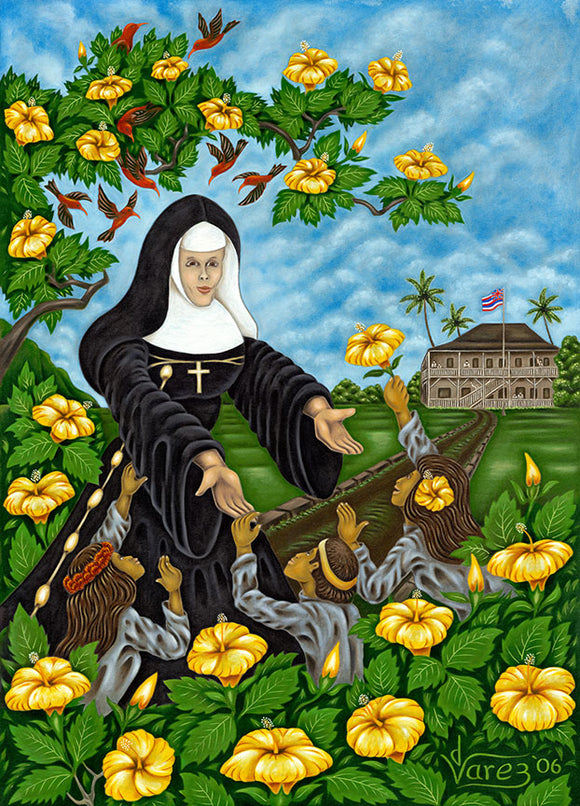 85 Mother Marianne by Hawaii Artist Dietrich Varez