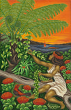 88 Maile Girl by Hawaii Artist Dietrich Varez