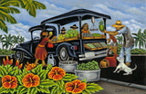 8 The Vegetable Truck by Hawaii Artist Dietrich Varez