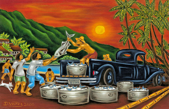 9 The Fish Truck by Hawaii Artist Dietrich Varez