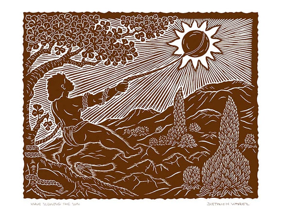 L79 Maui Slowing the Sun by Hawaii Artist Dietrich Varez