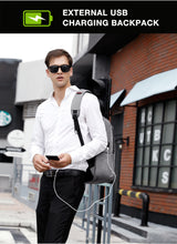 Load image into Gallery viewer, Multi-functional Business Backpack