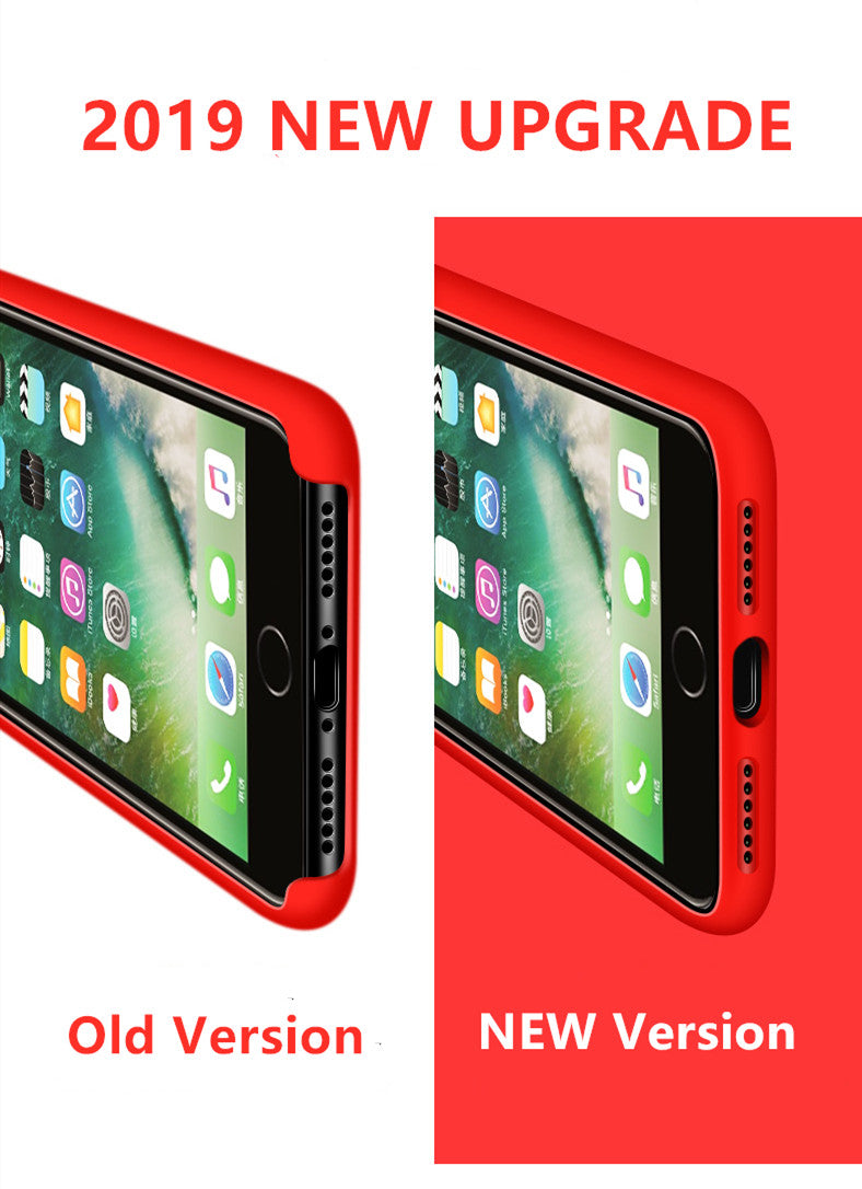 Luxury Liquid Silicone Case For iPhone (Buy 2 Packs Only