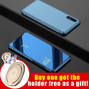 Luxury Flip Full Screen Protection Smart Cover For Samsung(Buy one get the holder free as a gift!)