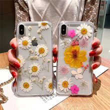 Load image into Gallery viewer, Dried Daisy Flower Phone Case