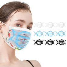 Load image into Gallery viewer, Soft Anti-fog Silicone 3D Face Mask Bracket