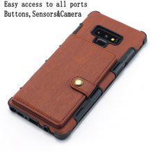 Load image into Gallery viewer, Copper Button Protective Case For Samsung Note 9