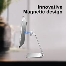 Load image into Gallery viewer, L-shaped magnetic tablet holder
