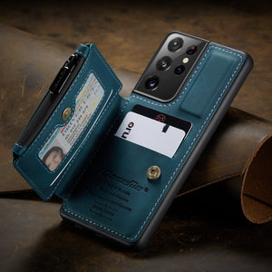 2021 New Luxury Multifunctional Wallet Phone Case For Samsung S21 Series