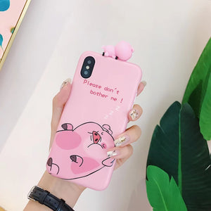 Tired Pig Phone Case