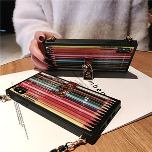 Luxury Fashion Pencil Phone Case
