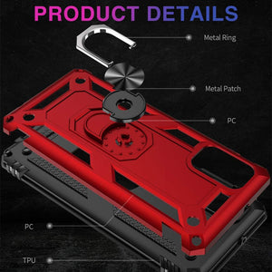 Luxury Armor Ring Bracket Phone Case For Samsung Note20-Fast Delivery