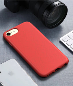 Environmentally Friendly Straw Granule Anti-Fall  Case For Iphone
