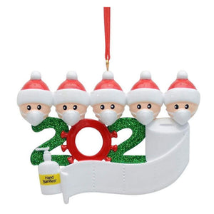 2020 Quarantine Christmas Personalized Decoration Gift
