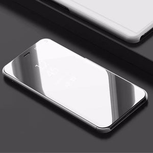 Luxury Flip Protection Full Screen Smart Window Cover For Samsung