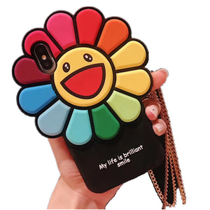 Smile Sunflower Phone Case