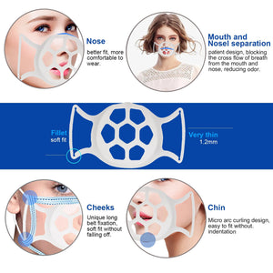 3D Softer Face Mask Bracket for More Breathing Space