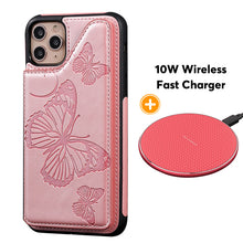 Load image into Gallery viewer, New Luxury Embossing Wallet Cover For iPhone 11Pro Max-Fast Delivery