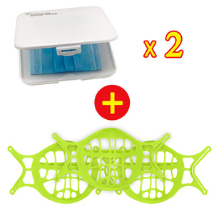 Upgraded Version Silicone 3D Mask Bracket-Prevent Glasses From Fogging