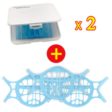 Load image into Gallery viewer, Upgraded Version Silicone 3D Mask Bracket-Prevent Glasses From Fogging